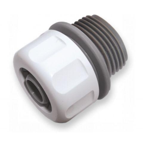 """WHITE LINE adapter s vnějším závitem na hadici 1/2"""", závit 3/4"""""""