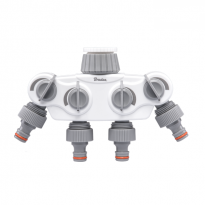 "WL-3034K Rozdělovač SOLID, 4-cestný ventil 1""-3/4"" WHITE LINE"
