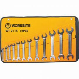 WT2115 klíče ploché 12 ks (6-32 mm) WORKSITE