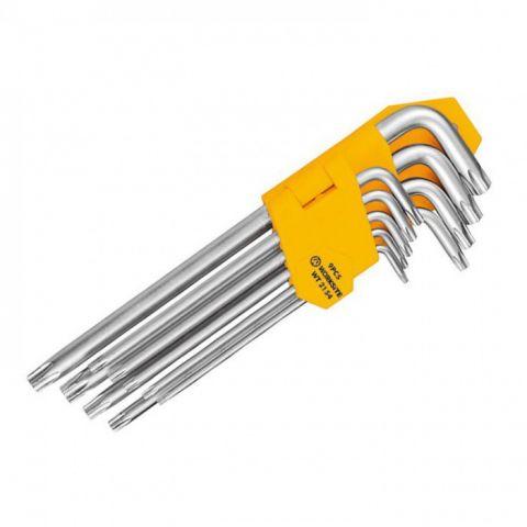 WT2154 klíče torx sada 9 ks WORKSITE