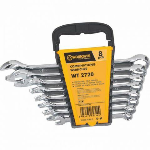 WT2720 klíče očkoploché 8 ks (8-19 mm) WORKSITE