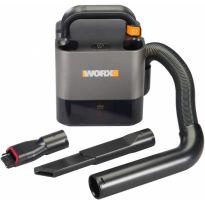 WX030.9 - Přenosný vysavač 20V PowerShare bez aku a nabíječky WORX ORANGE