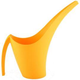 Zahradní plastová konev 1,5l GIRAFFE, žlutá