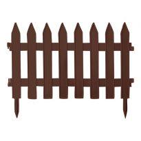 Zahradní plastový plot  3,2m, výška 350 mm GARDEN CLASSIC (různé barvy)