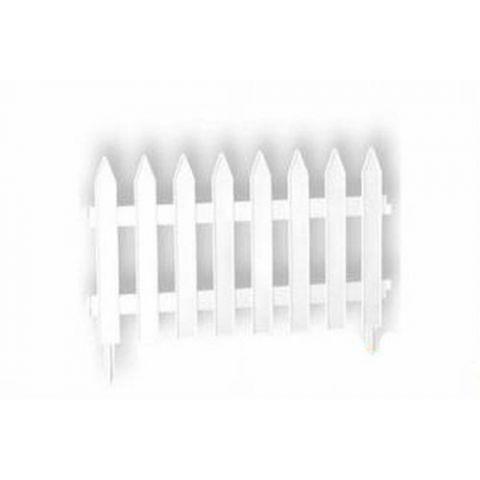 Zahradní plastový plot  3,2m GARDEN CLASSIC