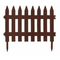 Zahradní plastový plot  3,5m, výška 520 mm GARDEN CLASSIC (různé barvy)