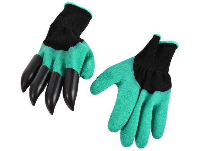 Zahradní rukavice s drápy GEKO