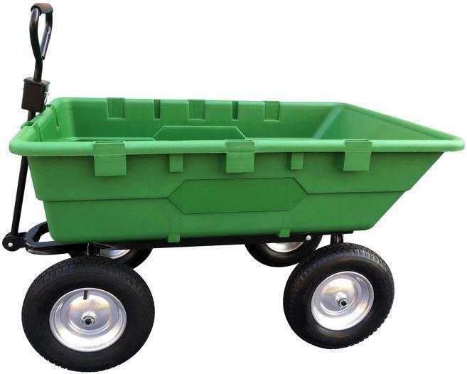 Zahradní vozík 225l, 500kg GGW 500 GÜDE Nářadí-Sklad 1 | 35