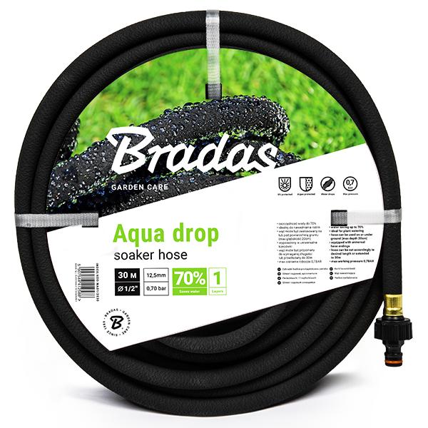 """Zahradní zavlažovací kapací hadice 7,5m 1/2"""" AQUA-DROP *HOBY 1.1Kg BR-WAD1/2075"""