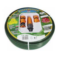 """Zahradní zavlažovací sada - hadice + 4ks příslušenství (různé velikosti hadice, 1/2"""", 3/4"""")"""