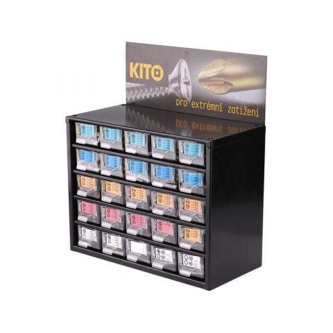 Zásobník s 310ks hroty KITO