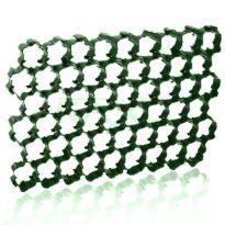 Zatravňovací plastové dlaždice 1,1m², tvárnice, zelená PLANT