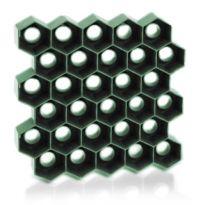 Zatravňovací plastové dlaždice 1m², tvárnice, zelená HONEY