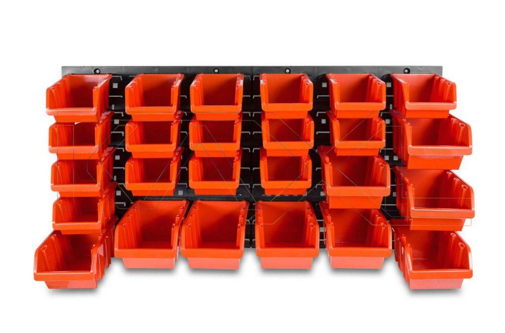Závěsný organizér/držák s 28 boxy NTBNP1 ORDERLINE Nářadí-Sklad 1 | 3