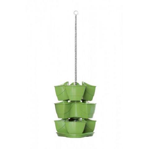 Závěsný plastový květináč 9L na bylinky DKN300W COUBI