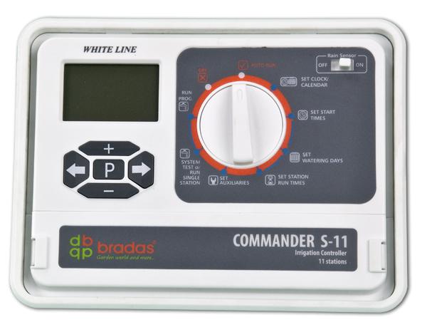Zavlažovací počítač, elektronický regulátor 11 sekcí WHITE LINE Nářadí-Sklad 1 | 0