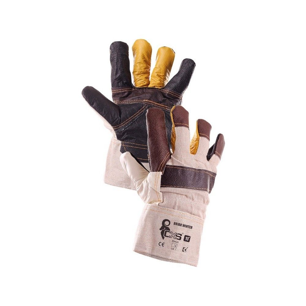 """Zimní rukavice BOJAR winter kombinované, v. 11"""" *HOBY 0Kg CA370000300011"""